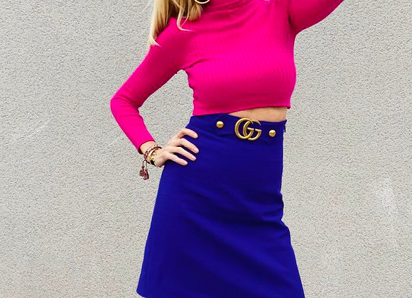 Gucci violet skirt new with tags