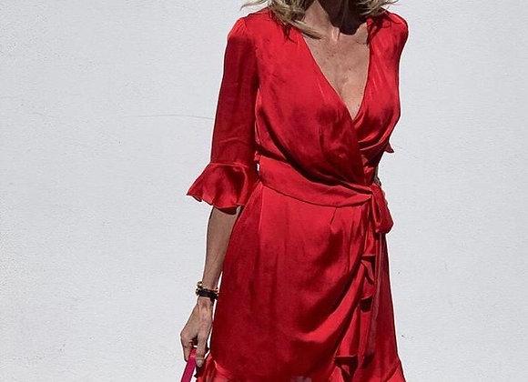 Thannac coral dress