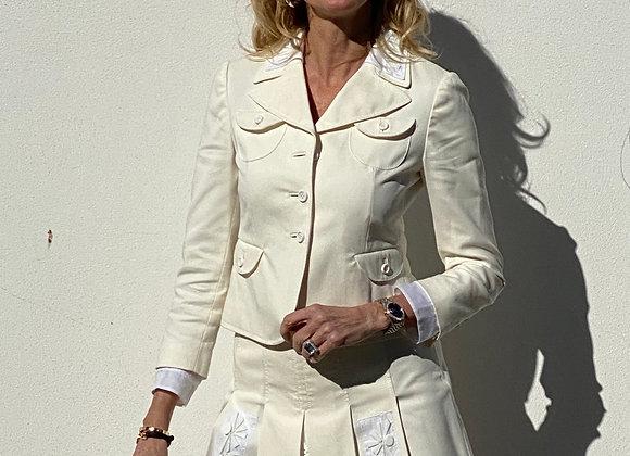 Prada stone suit