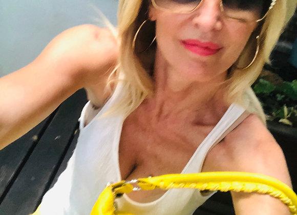 Balenciaga yellow bag new size xl