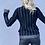 Thumbnail: Chanel black wool jacket