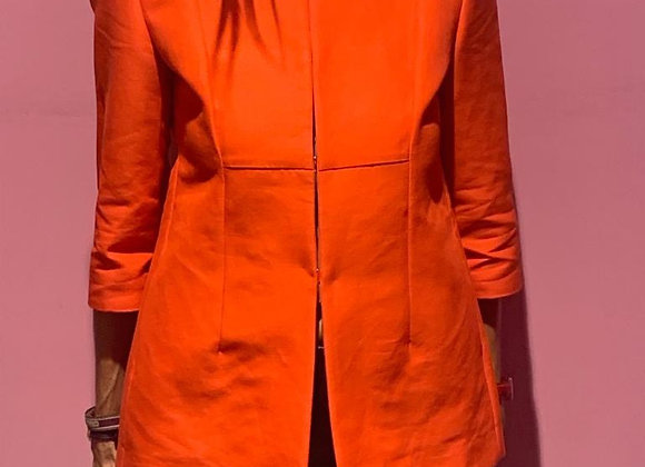 Marni red cotton jacket with gold closet size s