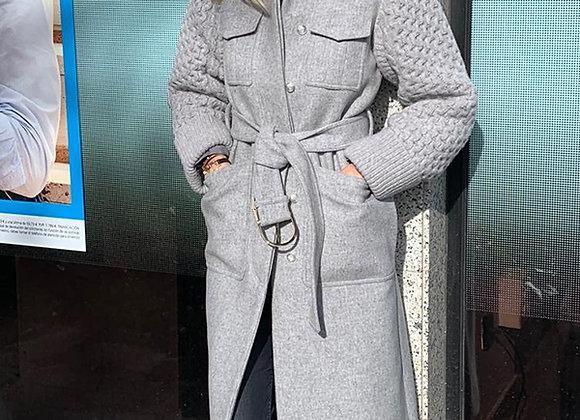 Stella McCartney gray wool coat