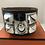 Thumbnail: Hermes collier de chein bangle black and silver