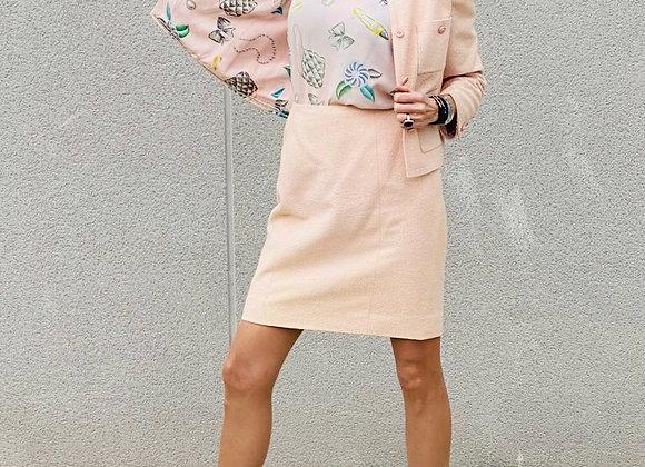 Chanel set 3piece pink colour