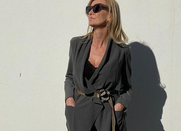 Brunello cucinelli gray jacket