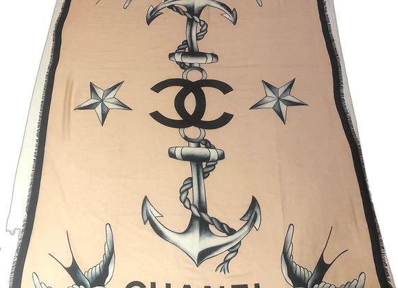 Chanel scarf in silk new