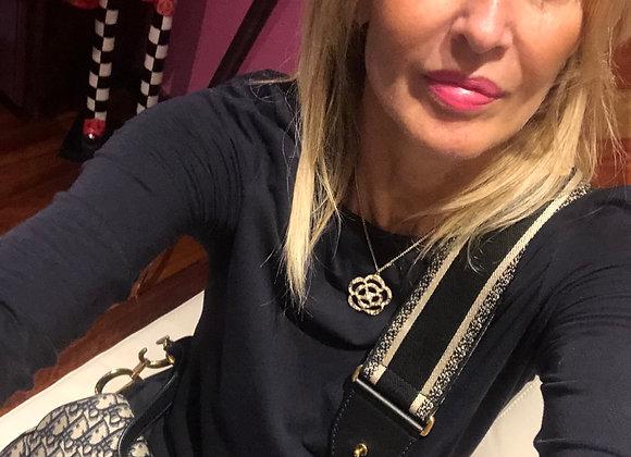 Dior saddle  oblique monogram bag preowner size 19cm