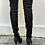 Thumbnail: Prada over the kneeck black leather size 39