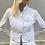 Thumbnail: Chanel white denim jacket
