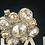 Thumbnail: Chanel crystal earring like new