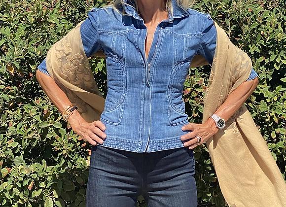 Chanel jeans jacket size s