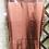 Thumbnail: Hermes brown leather skirt 36fr