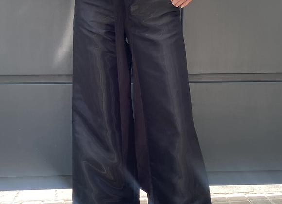 Chanel black pant size 38 italy