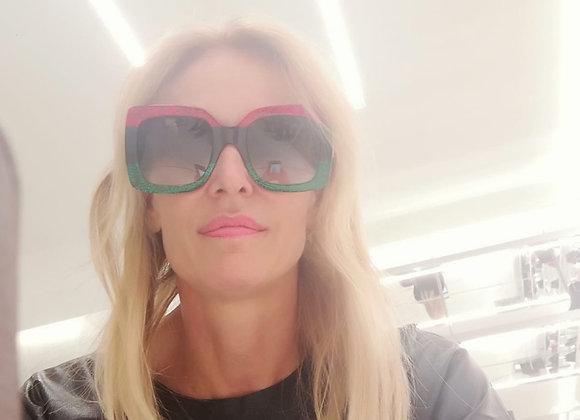 Gucci sunglasses monogram colours