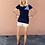 Thumbnail: Chanel blue dark tshirt 38 italy