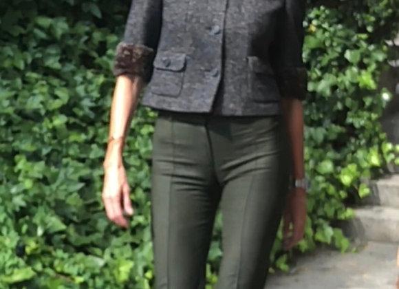 Balenciaga gray virgin  wool 38italy