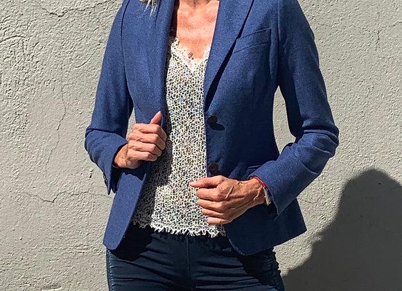 Hilton jacket kasmire blue size s preowner like new
