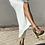 Thumbnail: Chanel white long skirt