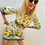 Thumbnail: Dolce gabbana muti colour print dress 38 italy