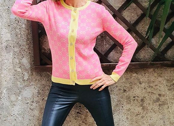 Gucci  short jacket monogram xs