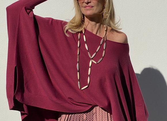 Callaghan long silk skirt