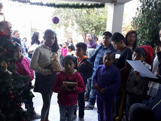 Festejo Navideño Centro Educativo Iyolosiwa A.C. - San Luis Potosí
