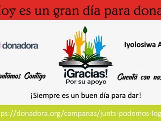 Agradecimientos por #UnDiaParaDar