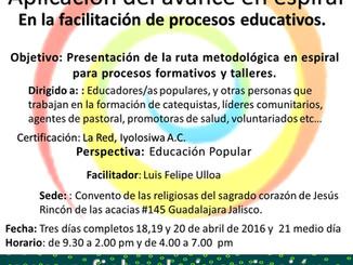 Taller de Facilitación en Procesos Educativos en Guadalajara