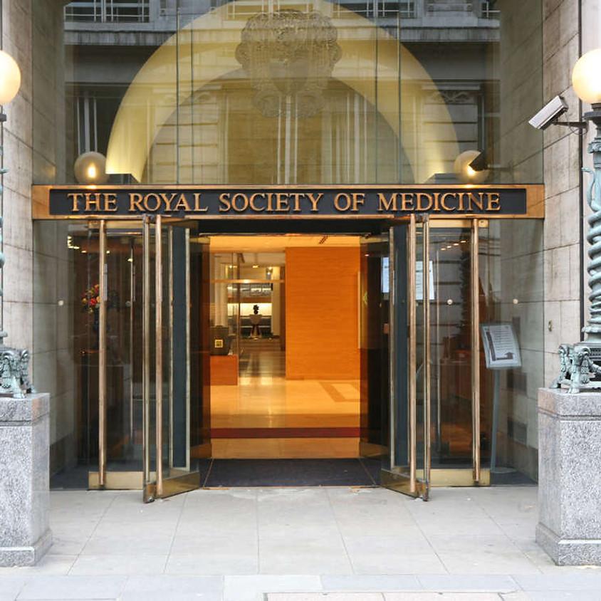 Dinner at the Royal Society of Medicine