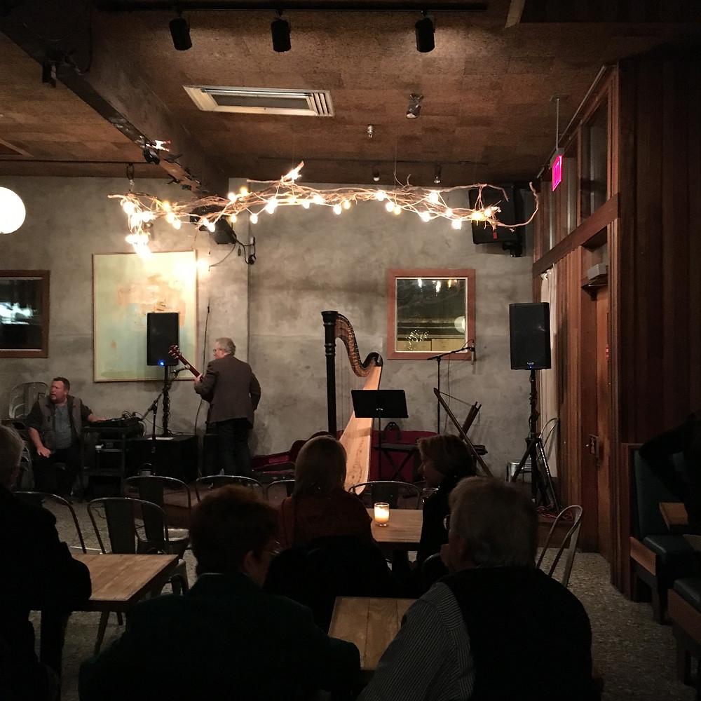 The venue - Balliceaux, Richmond, VA