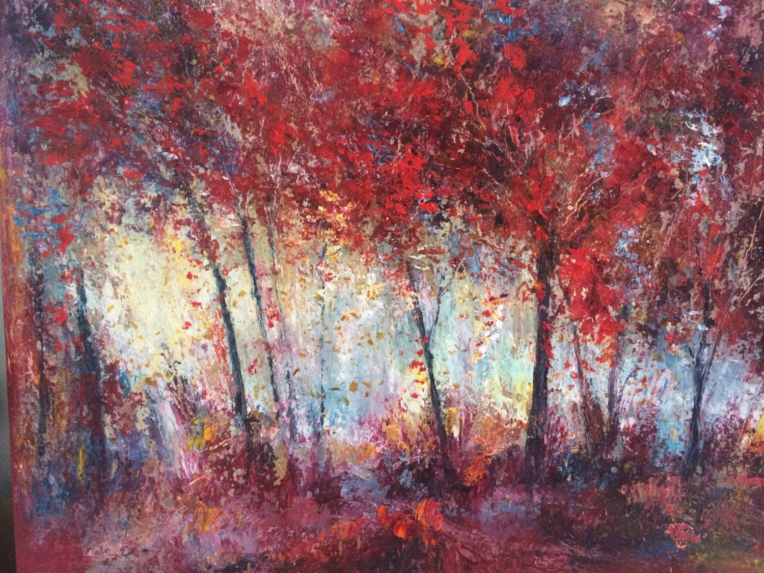 Falling leaves II (SOLD)