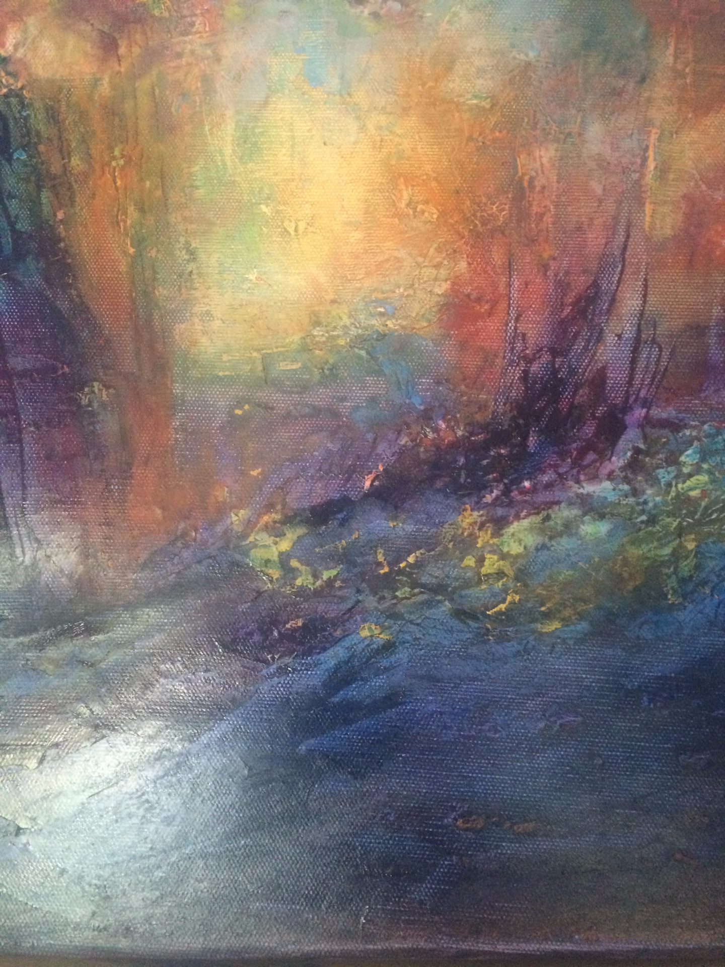 Through a wood, darkly... (SOLD)