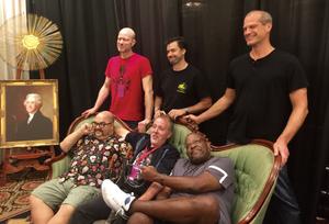 Photo of the 6 Original White Wolf members