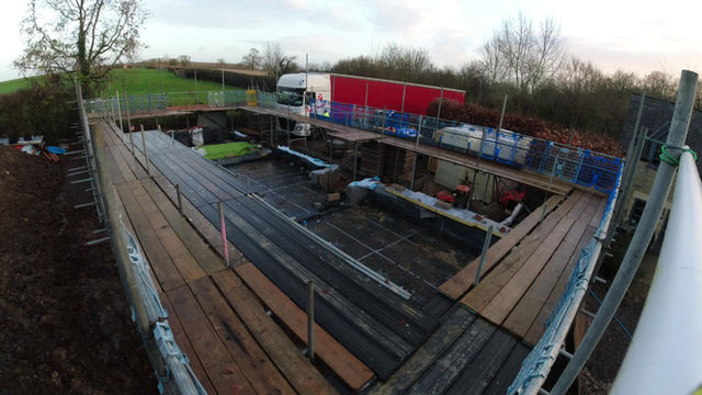 MCA Studios update - Day 1 Frame construction