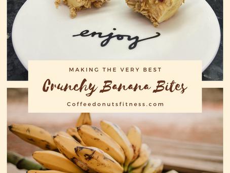 Crunchy Banana Bites