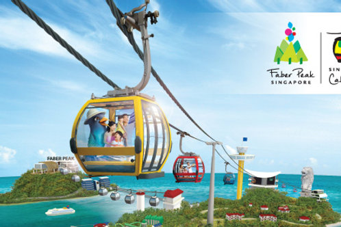 Singapore Cable Car Sky Pass Round Trip (C)