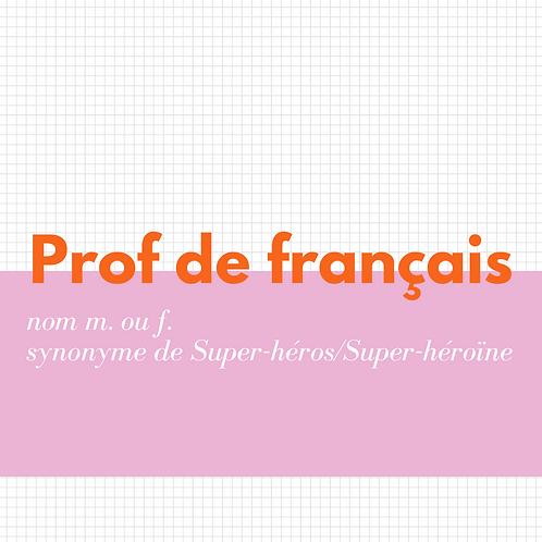 Image objet - Prof
