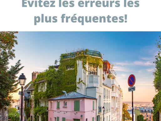 Evitez les erreurs les plus courantes du français!