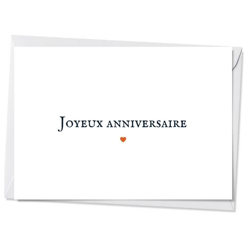 10 cartes - Joyeux anniversaire