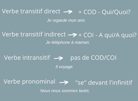 Types de verbes