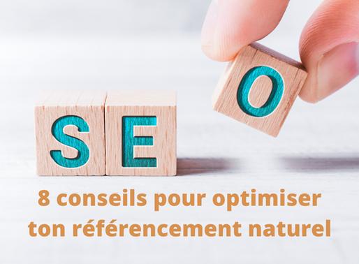 8 conseils pour optimiser ton référencement naturel (SEO)
