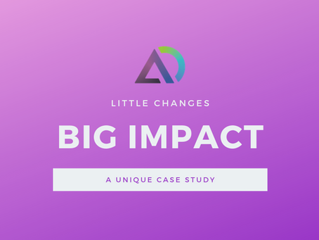 Case Study: CRO - The Little Things Matter