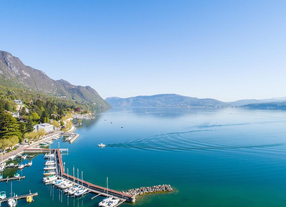 lac du bourget destination accessible en train depuis Lyon et Grenoble