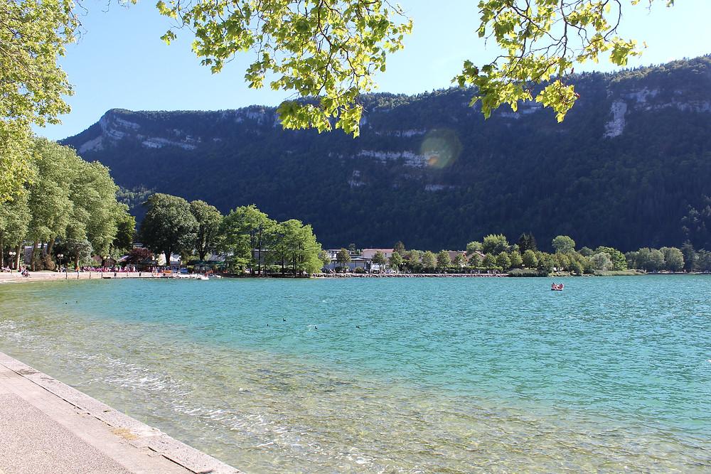 lac nantua destination accessible en train depuis Lyon