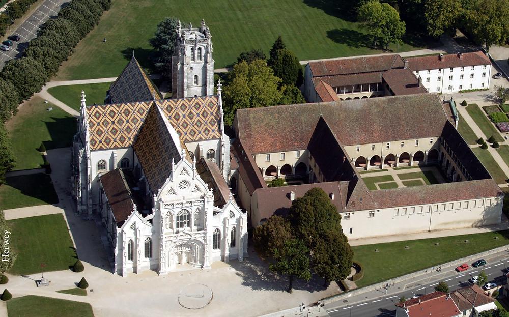 Monastère royal de Brou à Bourg-en-Bresse destination accessible en train depuis Lyon