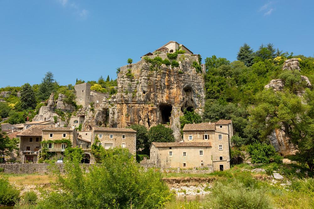 Labeaume plus beau village d'Ardèche