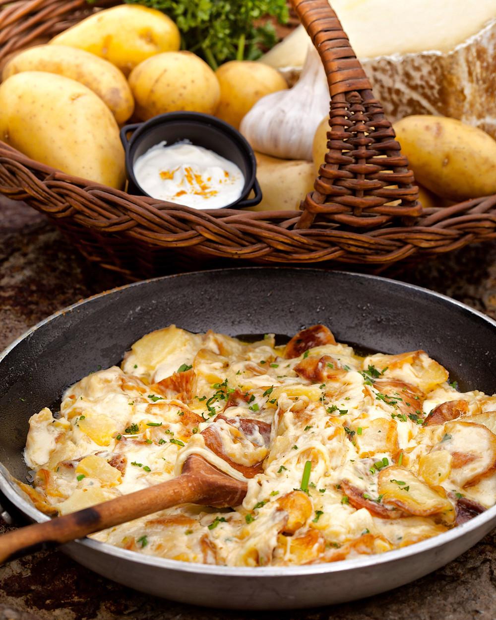 Trufface spécialité cuisine Auvergne-Rhône-Alpes que manger en Auvergne