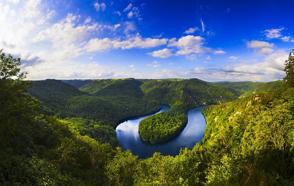 Méandre de Queuille point de vue insolite Puy de Dôme Auvergne