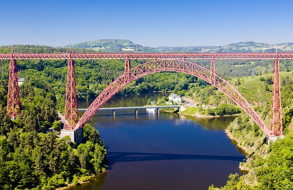 Viaduc de Garabit visite et lieu insolite autour Clermont en Auvergne